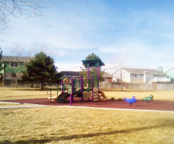 Toddler Playground at Holly Crossing Park